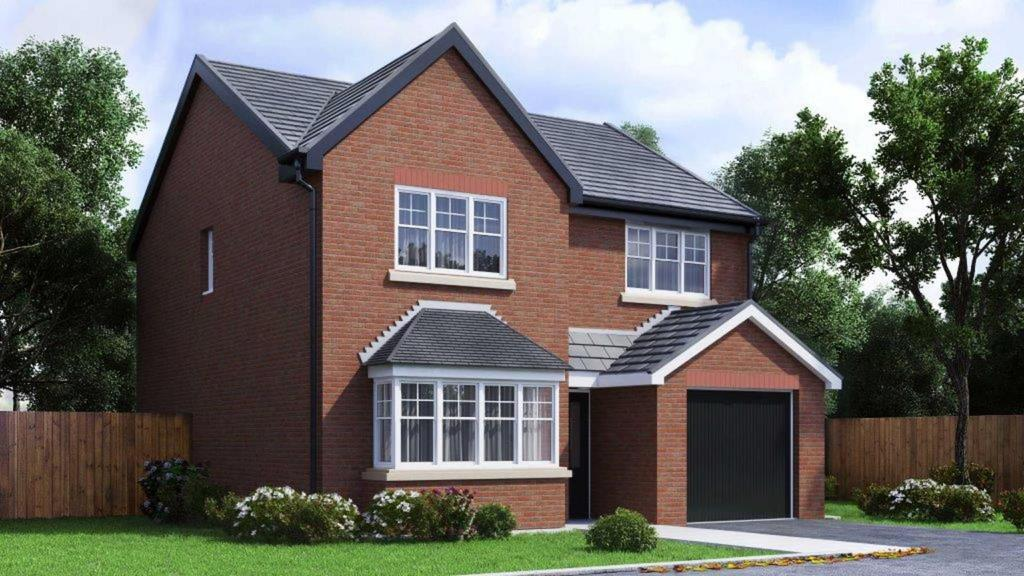 4 Bedrooms Detached House for sale in Plot 61 Lakeside Gardens, The Maidstone, Blackburn, BB2