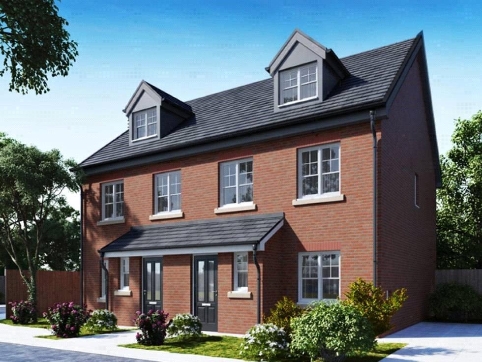 4 Bedrooms Semi Detached House for sale in Plot 58 Lakeside Gardens, The Churchill, Blackburn, BB2