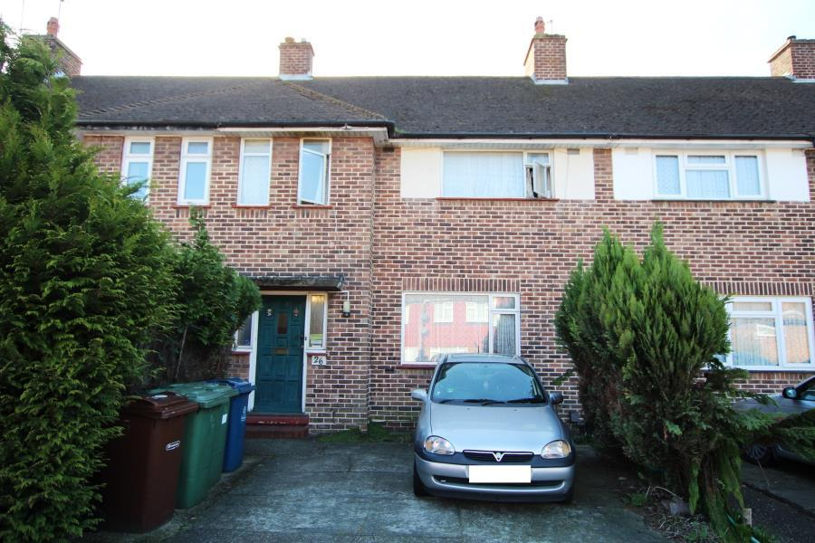 3 Bedrooms Terraced House for sale in Coles Crescent, South Harrow HA2 0TP