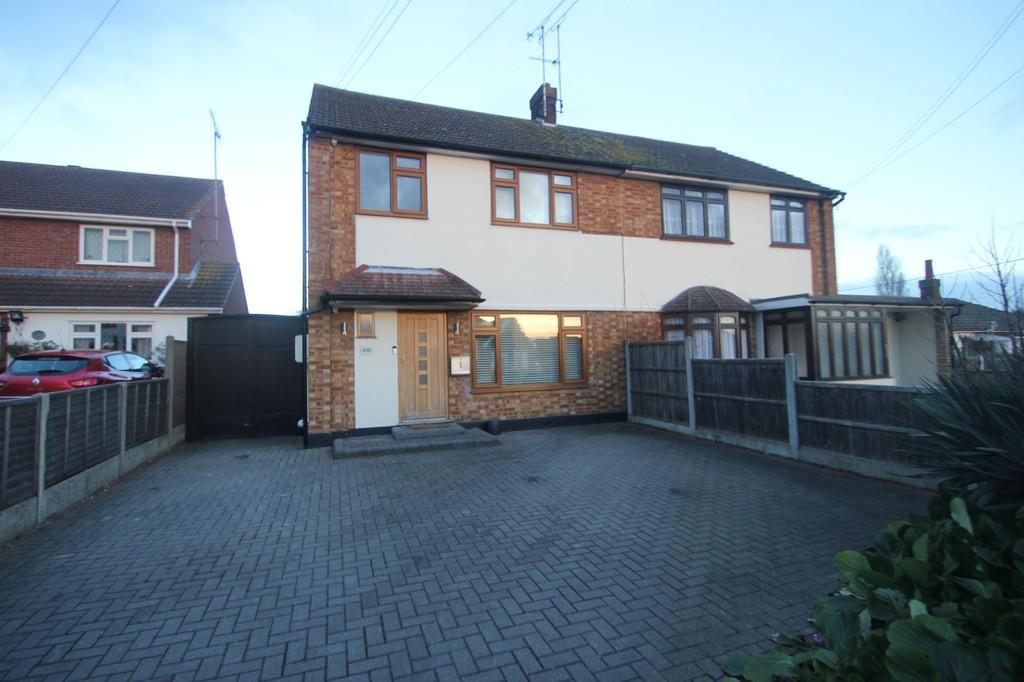 3 Bedrooms Semi Detached House for sale in Ashingdon Road, Rochford
