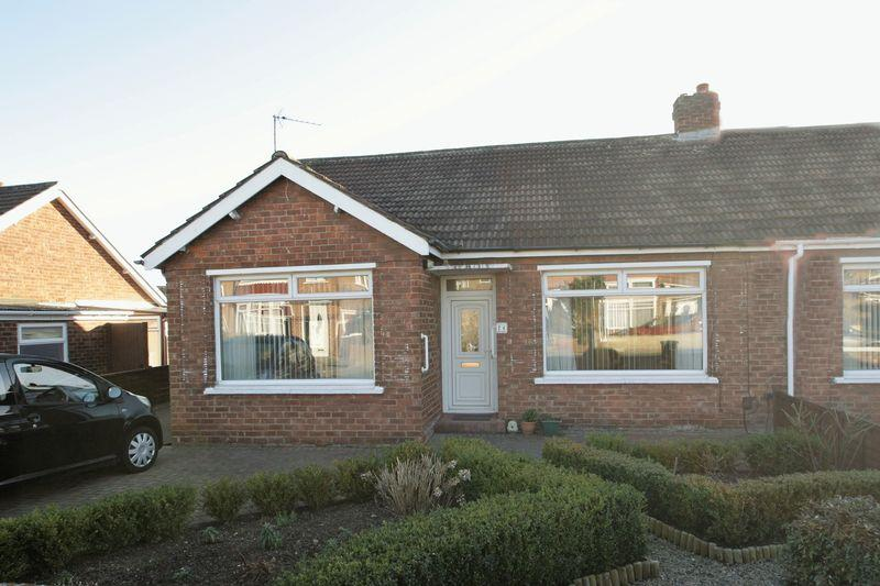 2 Bedrooms Semi Detached Bungalow for sale in Upsall Grove, Fairfield, Stockton, TS19 7BH