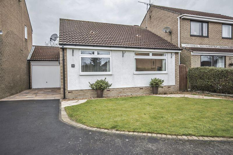 2 Bedrooms Semi Detached Bungalow for sale in Arkle Court, Alnwick