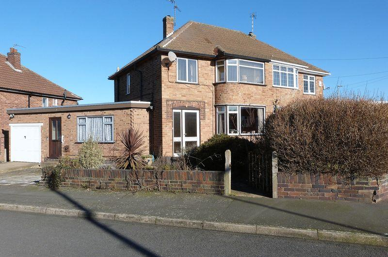 3 Bedrooms Semi Detached House for sale in Chellaston Road, Wigston Fields