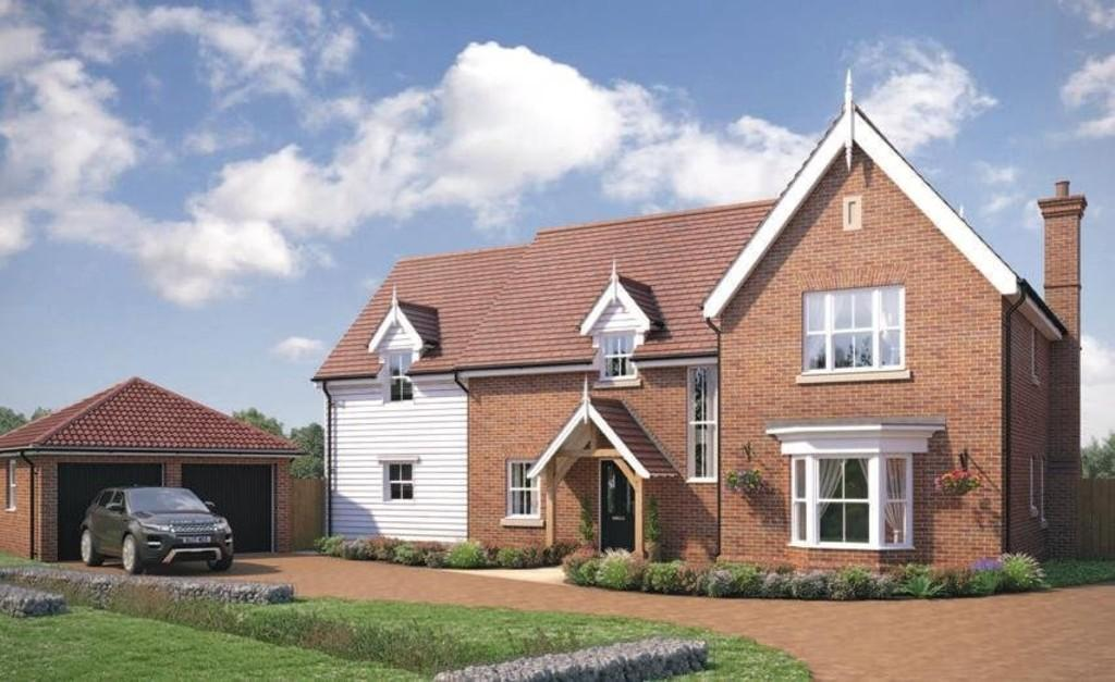 5 Bedrooms Detached House for sale in Little Bentley, Colchester