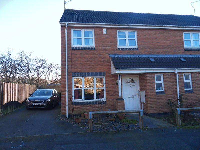 3 Bedrooms Semi Detached House for sale in Bakewell St Coalville