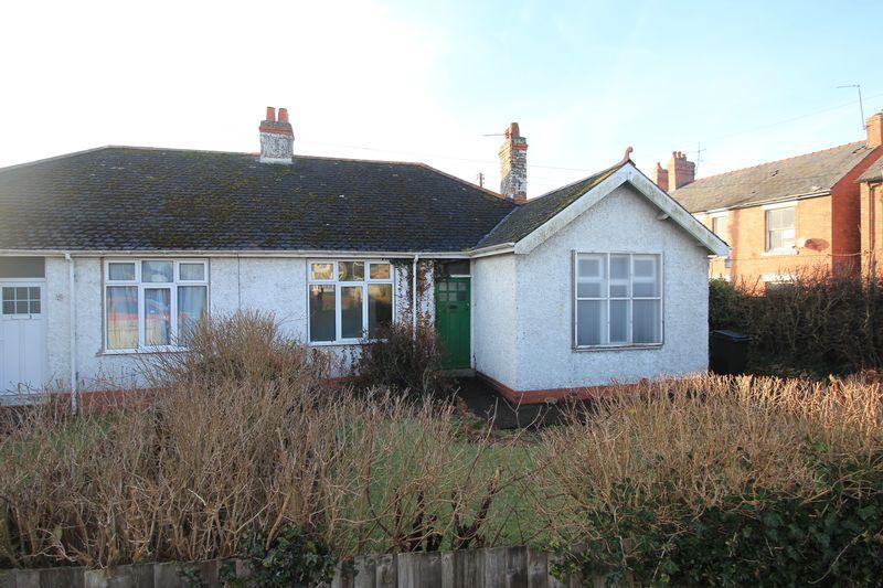 2 Bedrooms Semi Detached Bungalow for sale in 1 Walnut Croft, Whittington Road, Gobowen