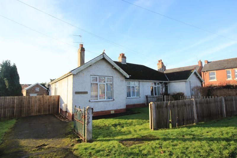 2 Bedrooms Semi Detached Bungalow for sale in 2 Walnut Croft, Whittington Road, Gobowen