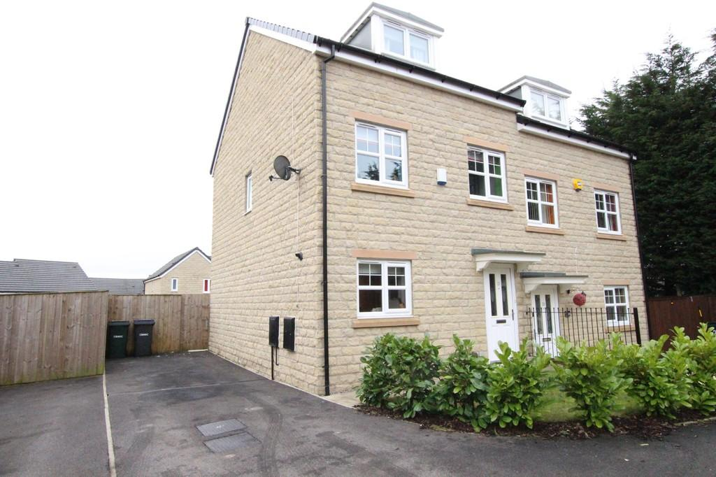 3 Bedrooms Semi Detached House for sale in Fallowfield Gardens, Bradford