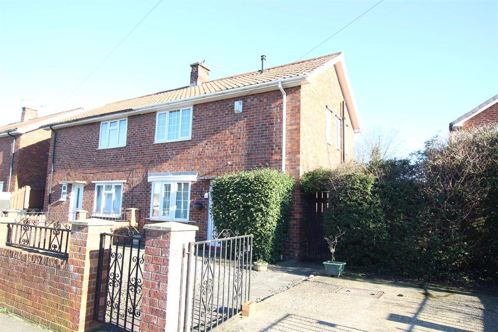 2 Bedrooms Semi Detached House for sale in Firthmoor Crescent, Darlington