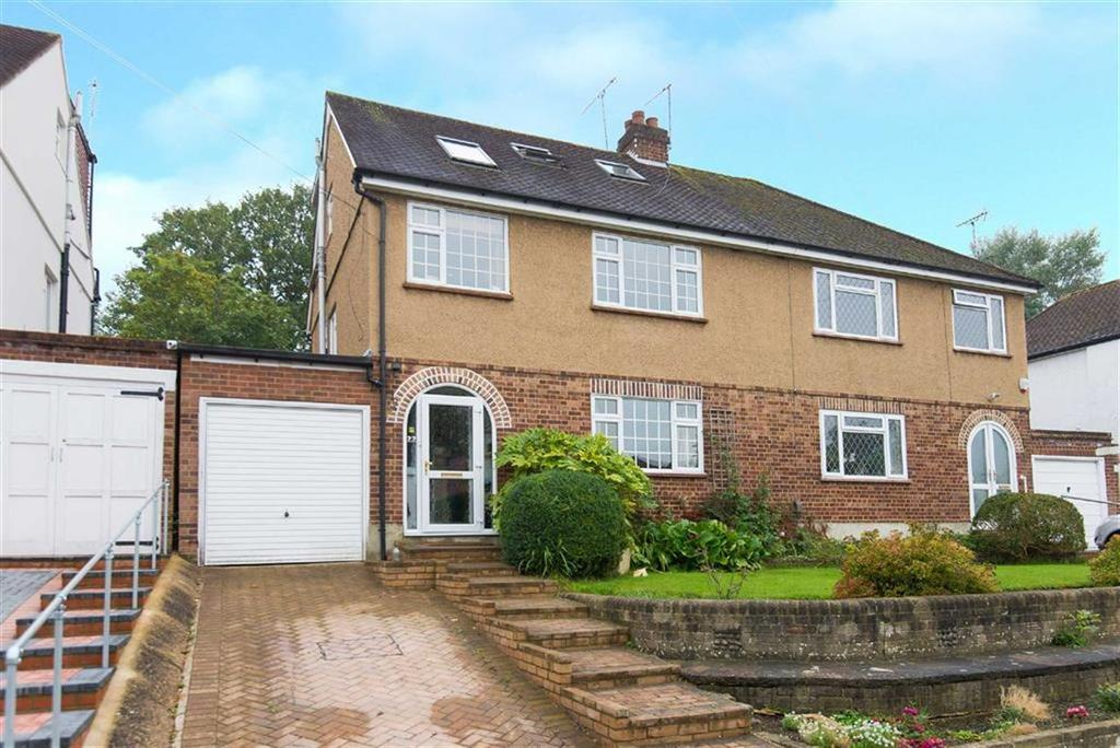 4 Bedrooms Semi Detached House for sale in Gladsdale Drive, Pinner, Middlesex