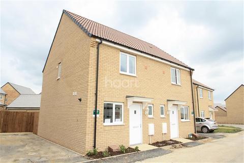 2 bedroom semi-detached house to rent - Flora Close