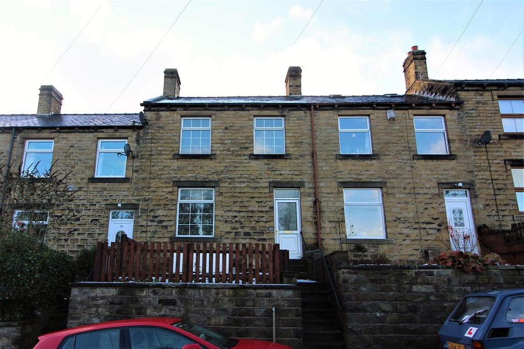 2 Bedrooms Terraced House for sale in Saville Road, Skelmanthorpe, Huddersfield, HD8 9ED