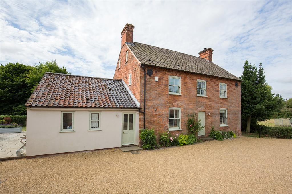 5 Bedrooms Detached House for sale in Chapel Lane, Ashby St. Mary, Norfolk, NR14
