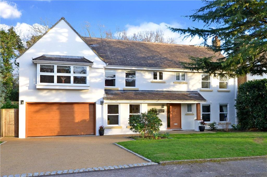 5 Bedrooms Detached House for sale in Woodend Park, Cobham, Surrey, KT11