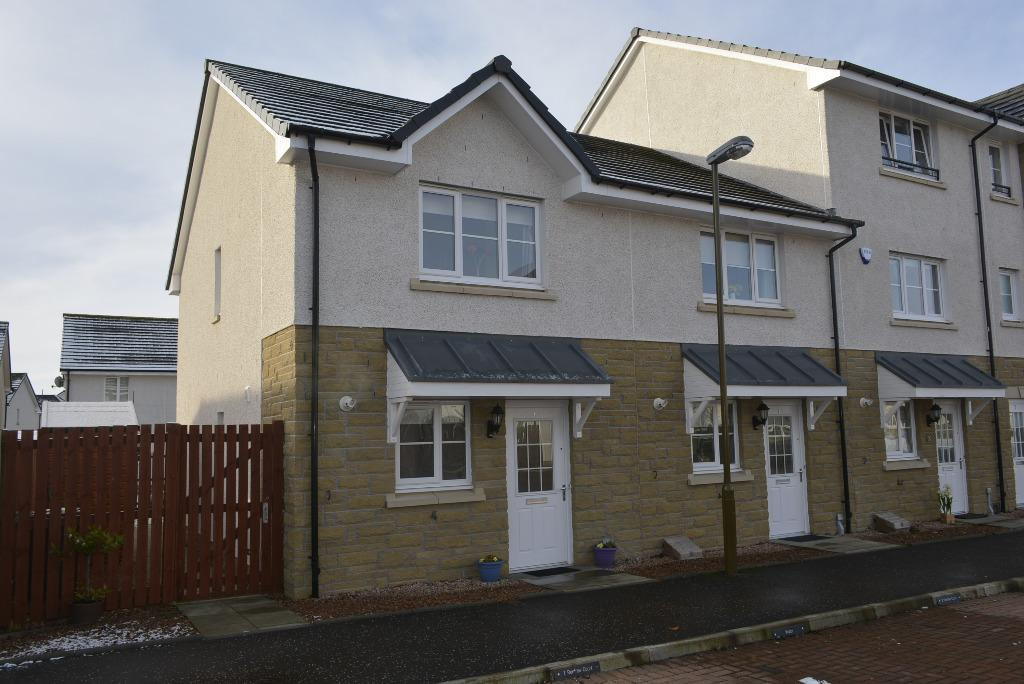 3 Bedrooms End Of Terrace House for sale in Renfrew Court, Causewayhead, Stirling, FK9 5HS