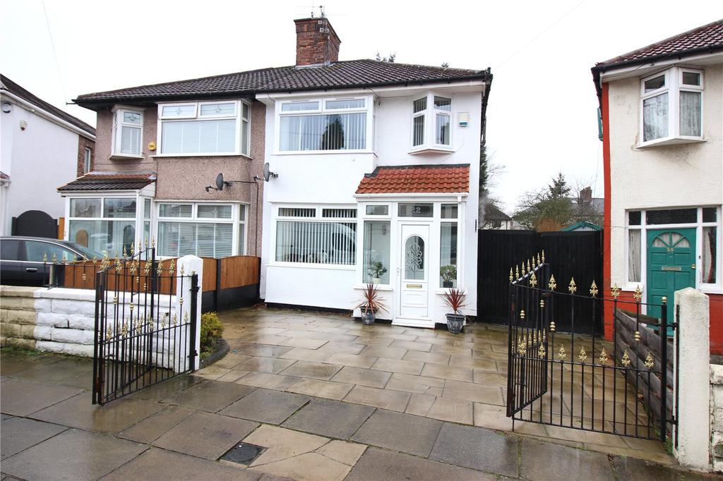 3 Bedrooms House for sale in Hilary Road, Liverpool, Merseyside, L4