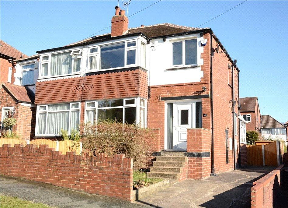 3 Bedrooms Semi Detached House for sale in Highthorne Drive, Shadwell, Leeds
