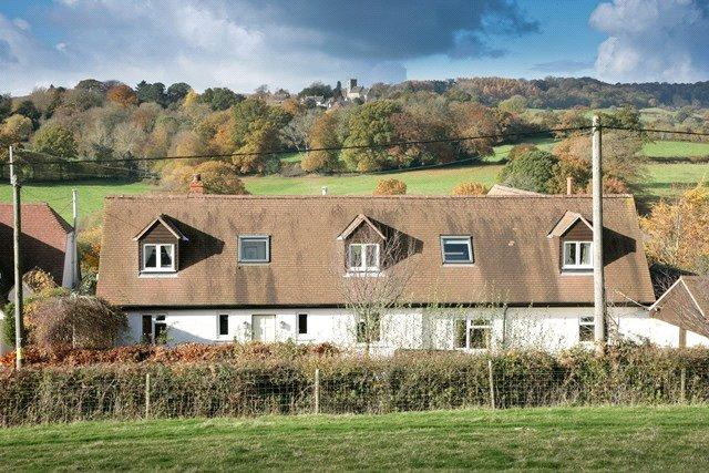 4 Bedrooms Detached House for sale in Donhead St. Andrew, Shaftesbury, Dorset, SP7