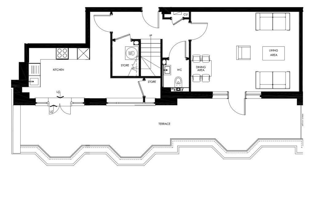 Floorplan 1 of 2: Typical Duplex Entrance Level