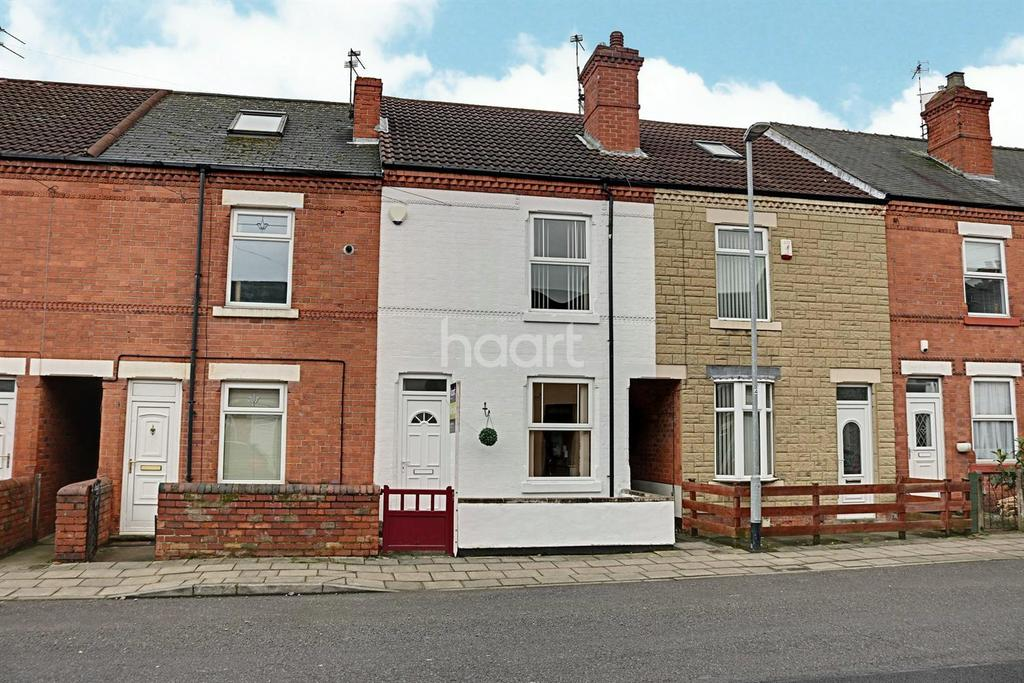3 Bedrooms Terraced House for sale in West Terrace, Hucknall