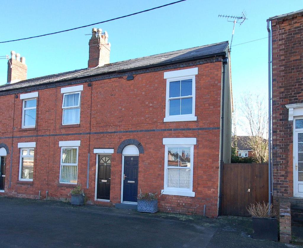 2 Bedrooms End Of Terrace House for sale in Shady Grove, Alsager, Cheshire