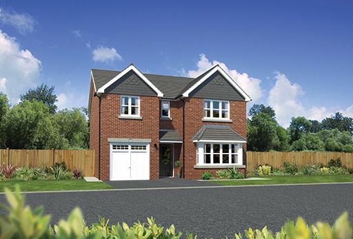 4 Bedrooms Detached House for sale in Winterley Gardens, Winterley