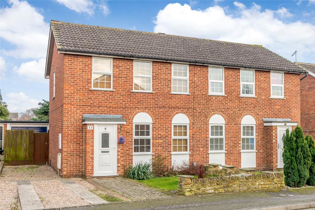 3 Bedrooms Semi Detached House for sale in Lawson Crescent, Northampton, Northamptonshire, NN3