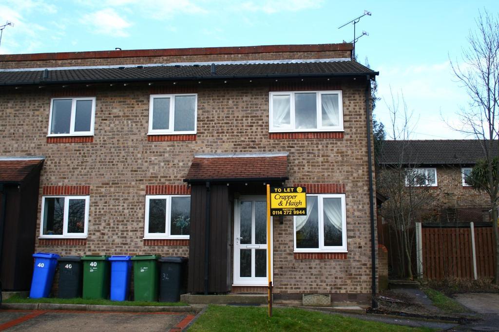 1 Bedroom Town House for rent in Pentland Gardens, Watethorpe, Sheffield S20