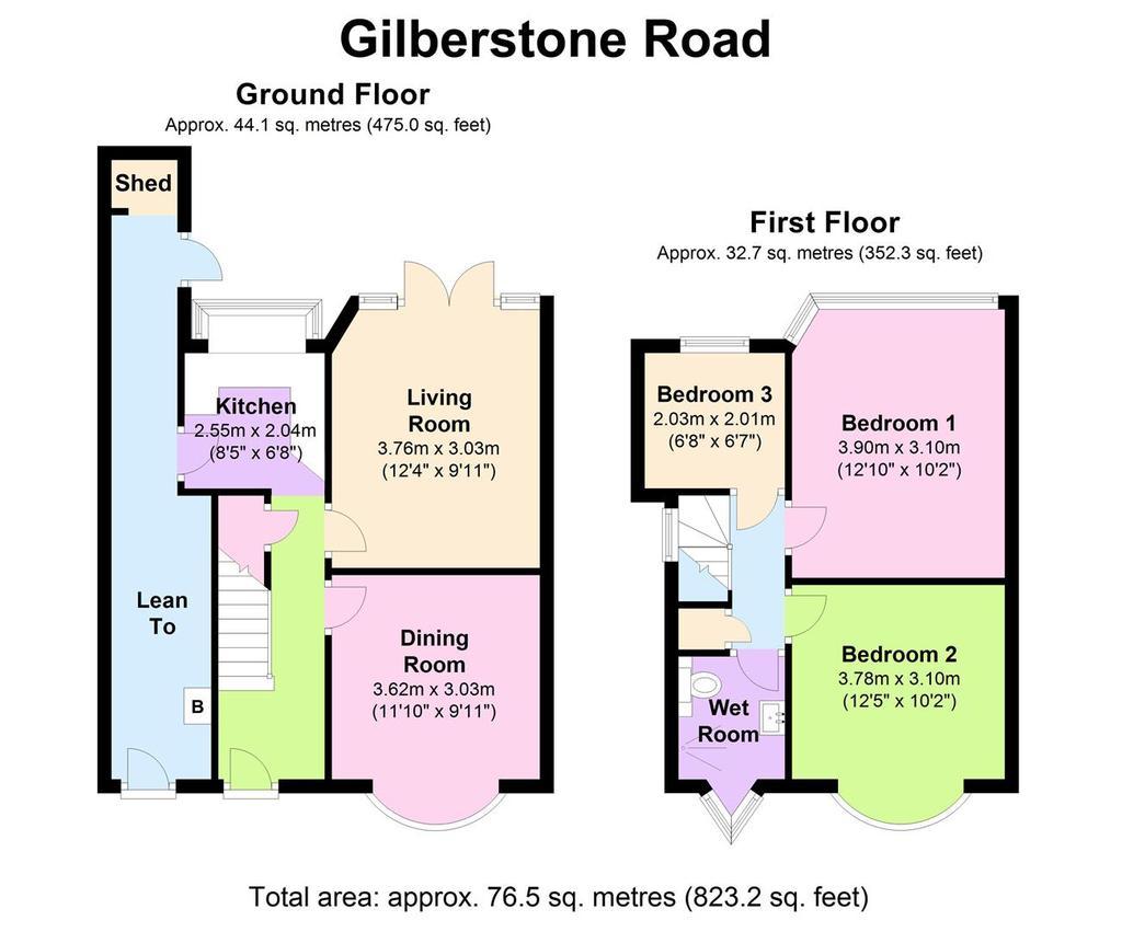 Floorplan: 156 Gilberstone Rd   Floorplan.JPG