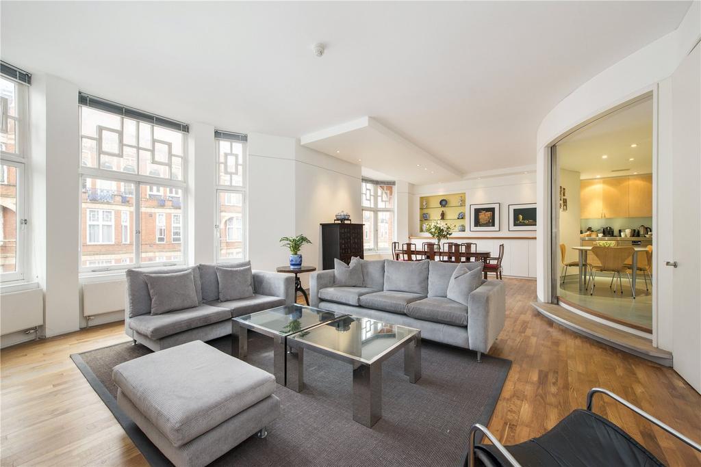 3 Bedrooms Apartment Flat for sale in Bickenhall Street, Marylebone, W1U