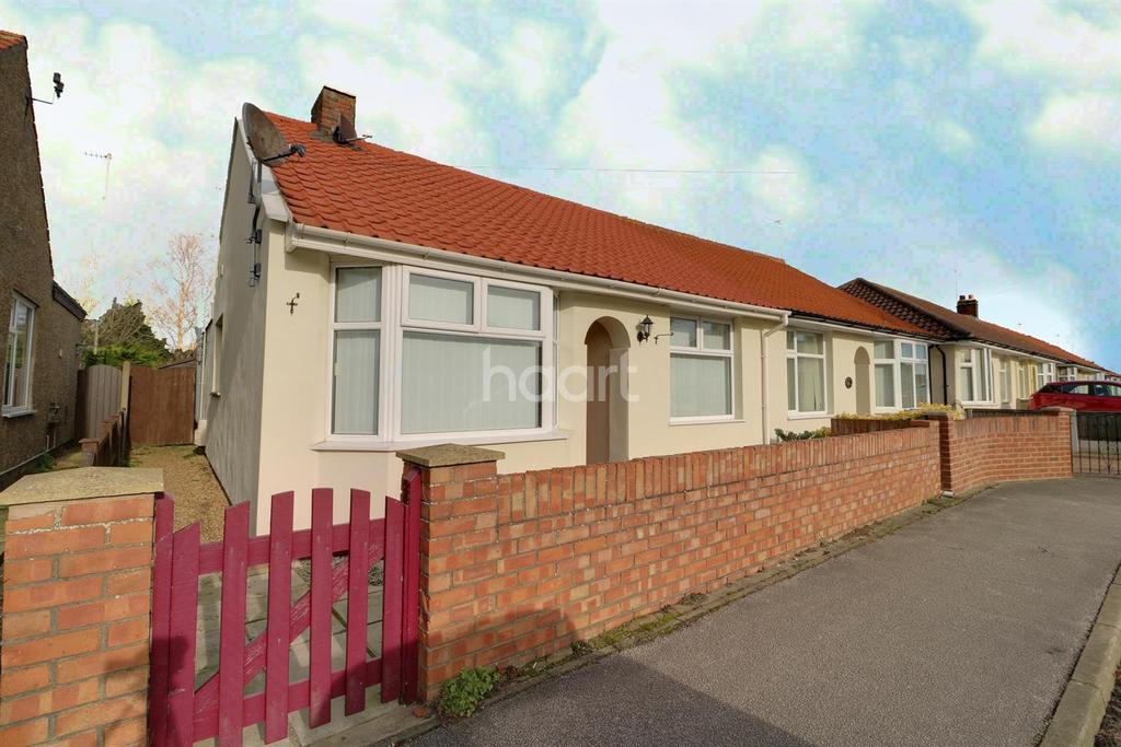 2 Bedrooms Bungalow for sale in Edgerton Road, Lowestoft