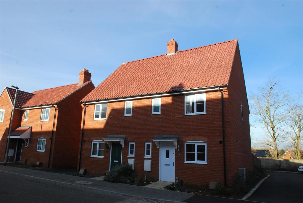 3 Bedrooms Semi Detached House for sale in Gilbert Road, Stanton, Bury St. Edmunds