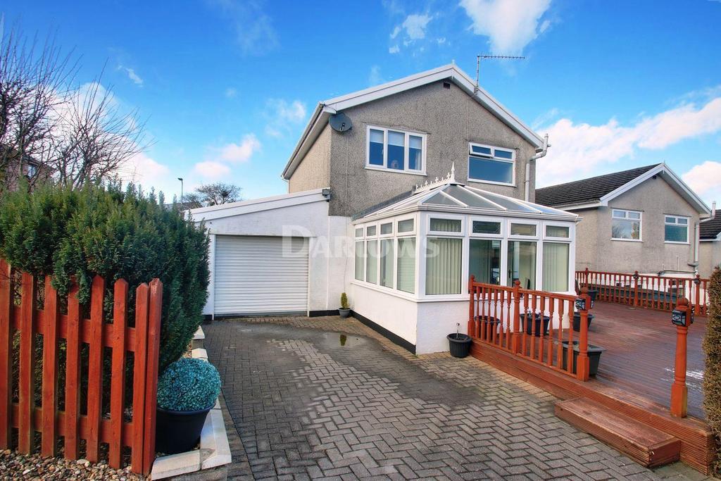3 Bedrooms Detached House for sale in Beechwood Drive, Heolgerrig