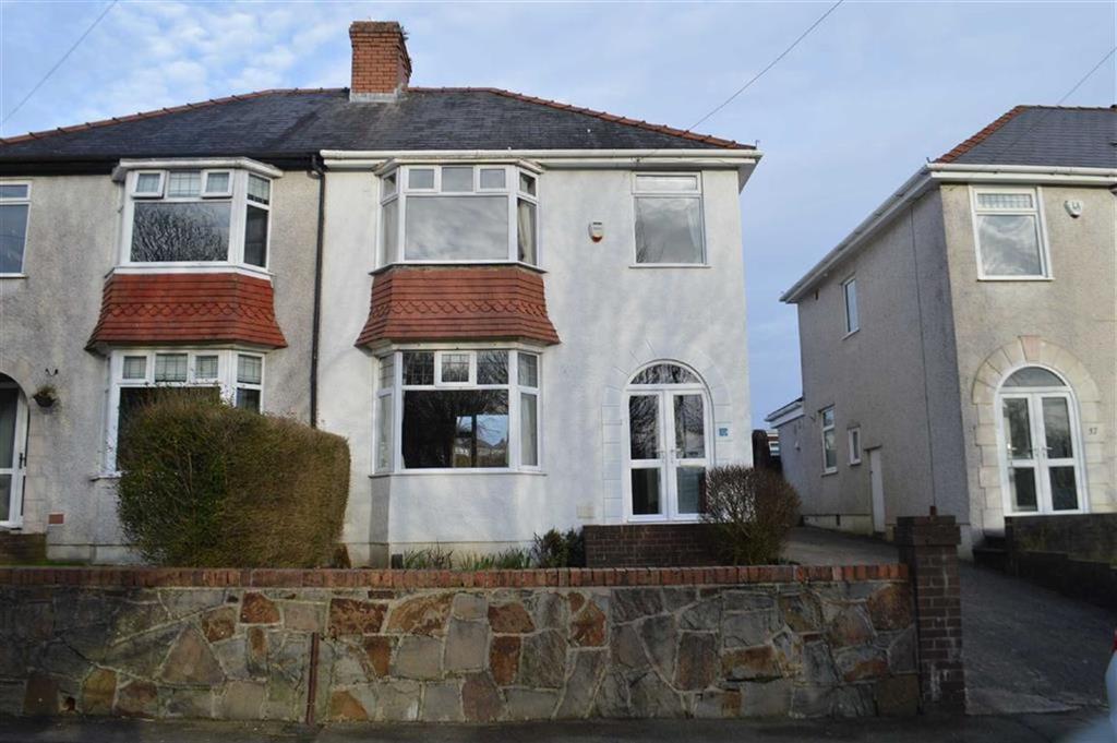 3 Bedrooms Semi Detached House for sale in Lon Coed Bran, Swansea, SA2