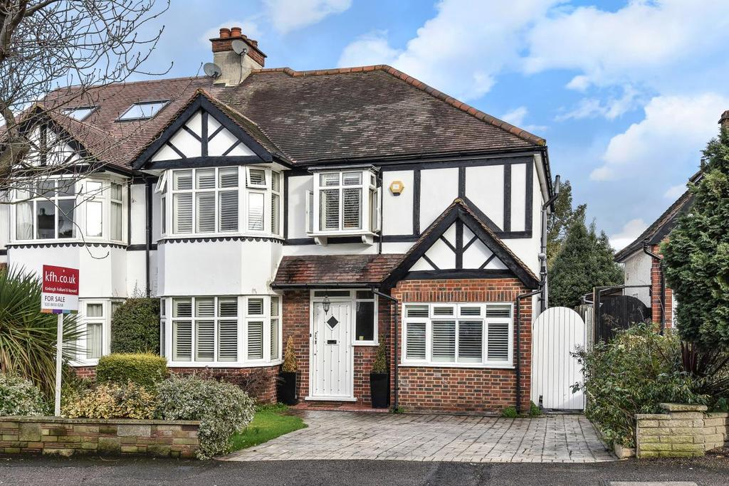5 Bedrooms Semi Detached House for sale in Uplands, Beckenham