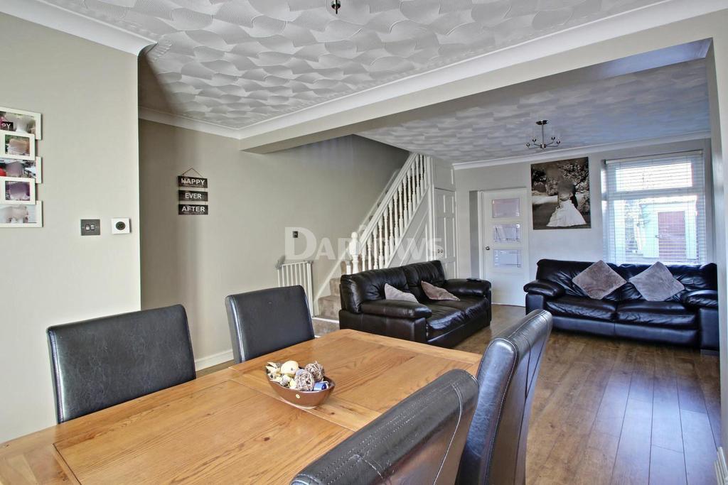3 Bedrooms Terraced House for sale in Glan-yr-Afon, Beaufort, Ebbw Vale, Blaenau Gwent
