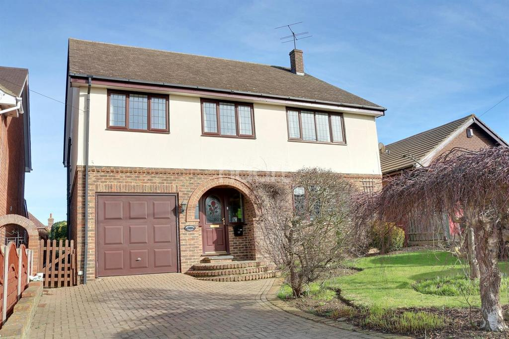 5 Bedrooms Detached House for sale in Sexburga Drive, Minster on Sea