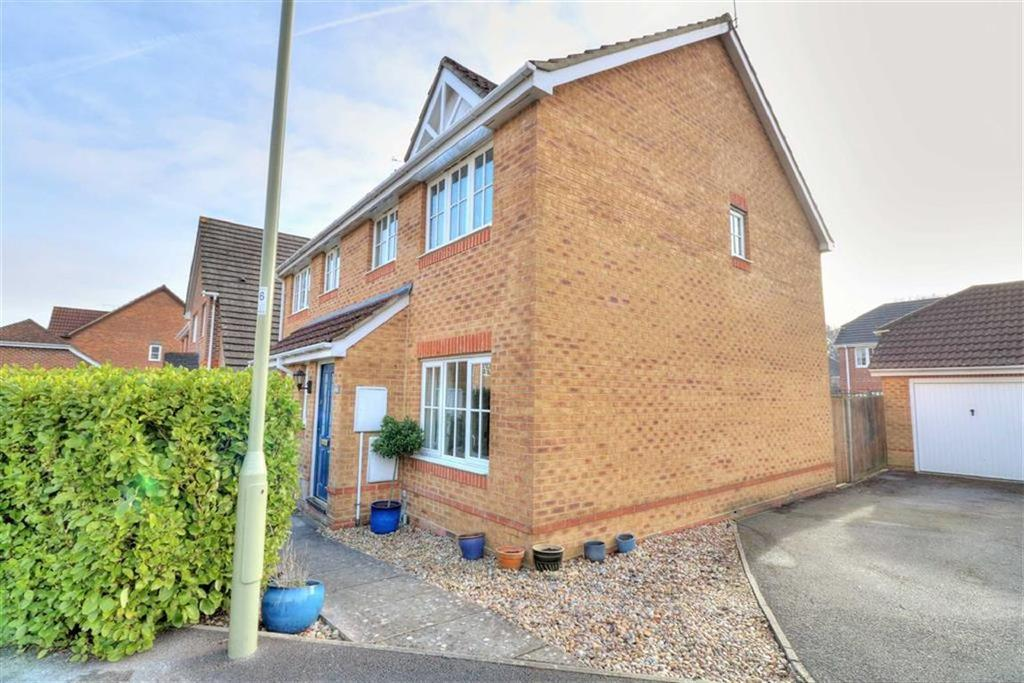 3 Bedrooms Semi Detached House for sale in Harvest Road, Knightwood Park, Chandlers Ford, Hampshire