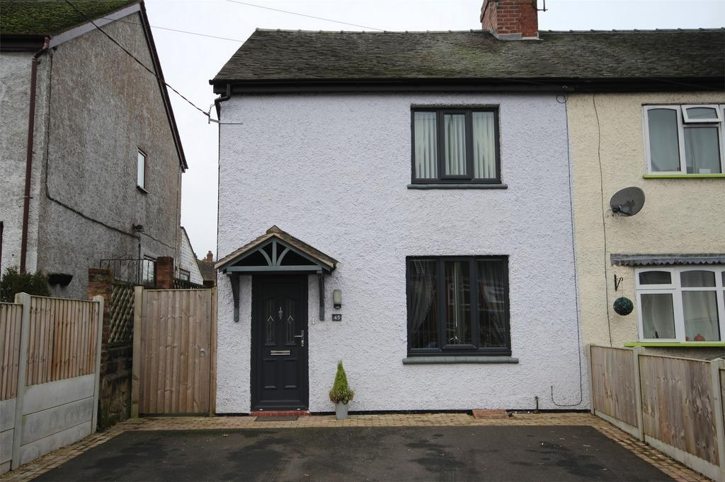 3 Bedrooms Semi Detached House for sale in Froghall Road, Cheadle, STOKE-ON-TRENT, Staffordshire