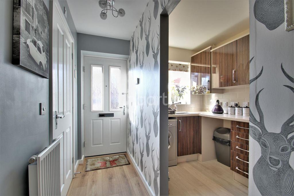 2 Bedrooms End Of Terrace House for sale in Tyne Way, Rushden