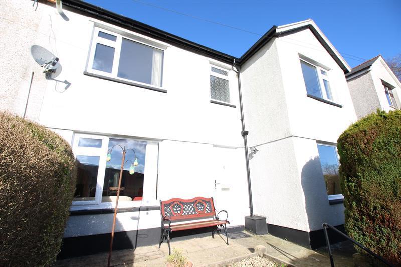 3 Bedrooms Semi Detached House for sale in Dan Y Graig, Abertridwr, Caerphilly