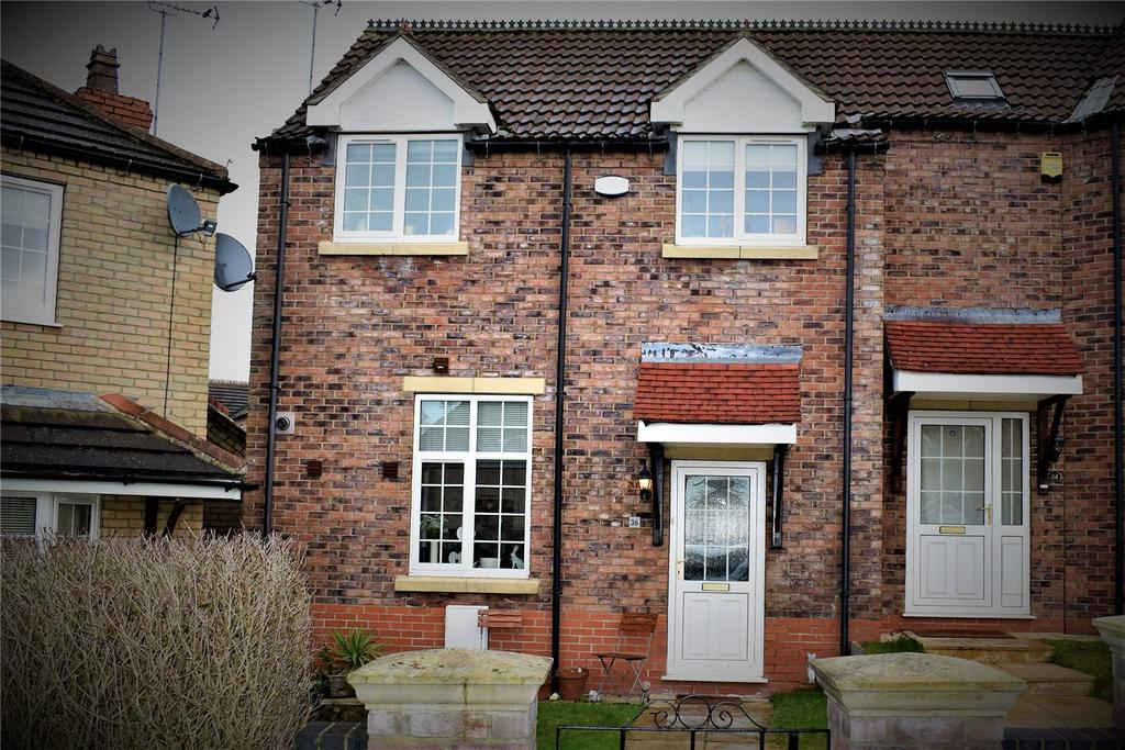 2 Bedrooms End Of Terrace House for sale in Windmill Way, Kirton Lindsey, Gainsborough, Lincolnshire, DN21