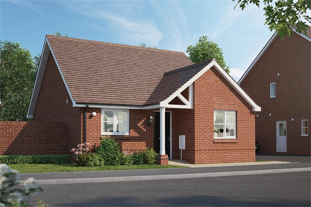 2 Bedrooms Detached Bungalow for sale in Meadow Croft, Chapel End Road, Houghton Conquest