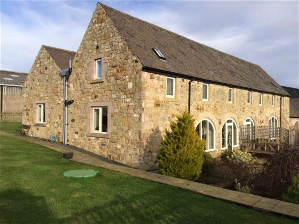 4 Bedrooms Semi Detached House for sale in The Granary, Bowsden West Steading, Bowsden, BERWICK-UPON-TWEED, Northumberland