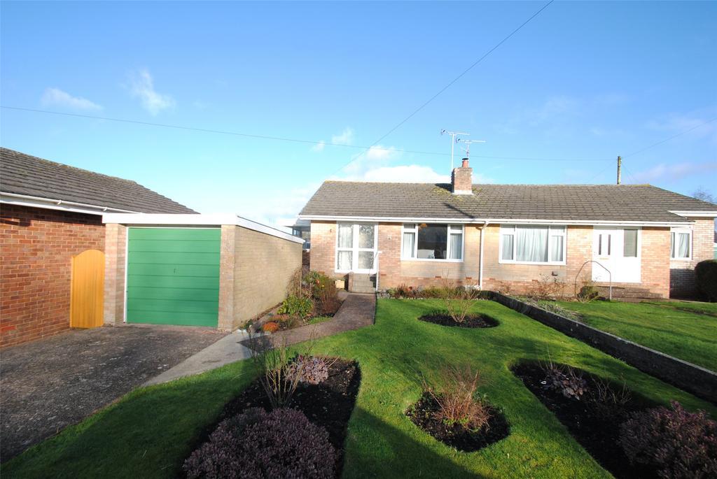 2 Bedrooms Semi Detached Bungalow for sale in Castle Park, Hemyock