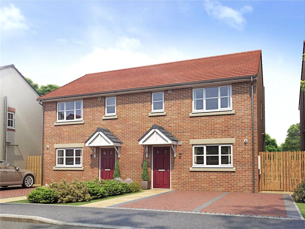 3 Bedrooms Semi Detached House for sale in Plot 17 Orwell Grange, Off Kirk Hill