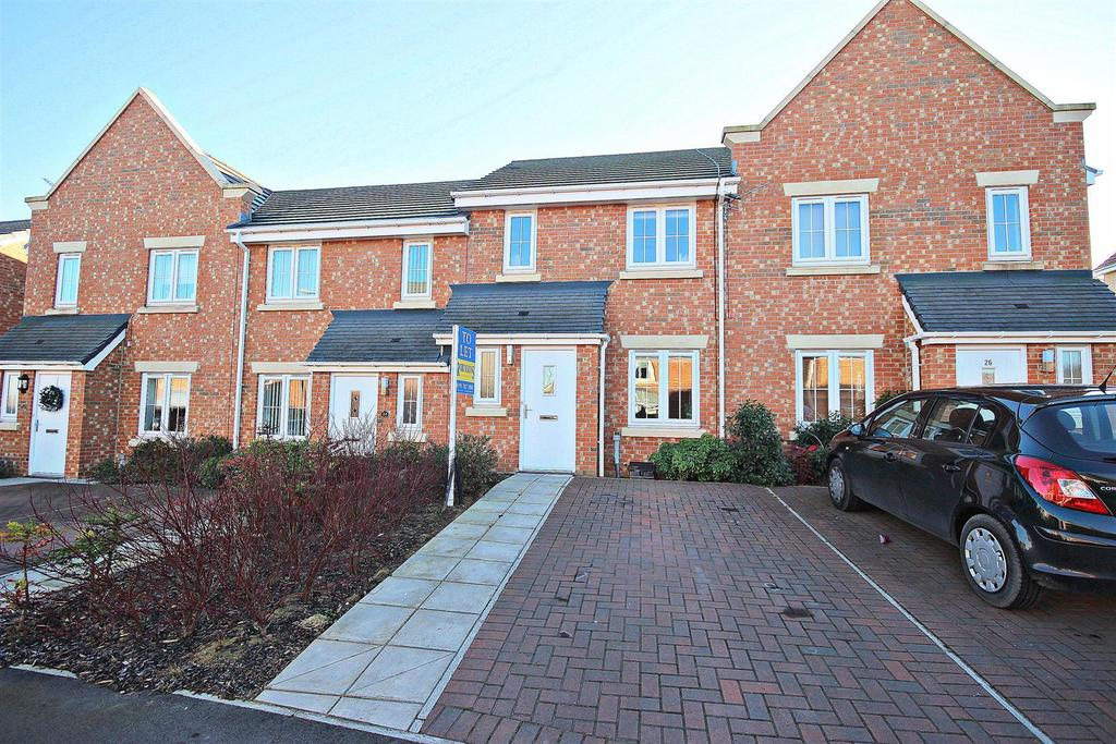 3 Bedrooms Terraced House for sale in Ashwood Close, Sacriston, Durham
