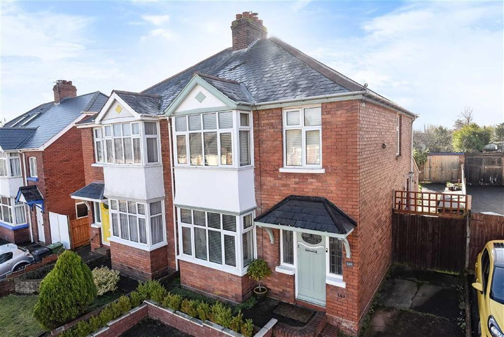 3 Bedrooms Semi Detached House for sale in Pinhoe Road, Exeter, Devon, EX4