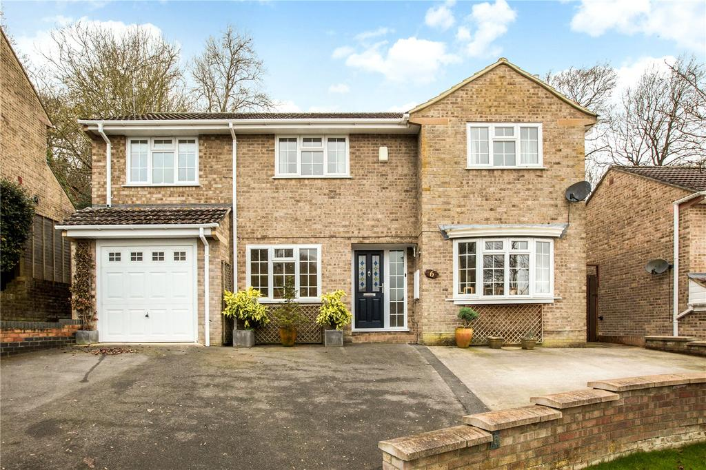 4 Bedrooms Detached House for sale in Cherry Tree Drive, Yeovil, Somerset