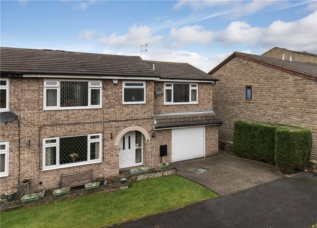 5 Bedrooms Semi Detached House for sale in Manor Farm Close, Cottingley, West Yorkshire